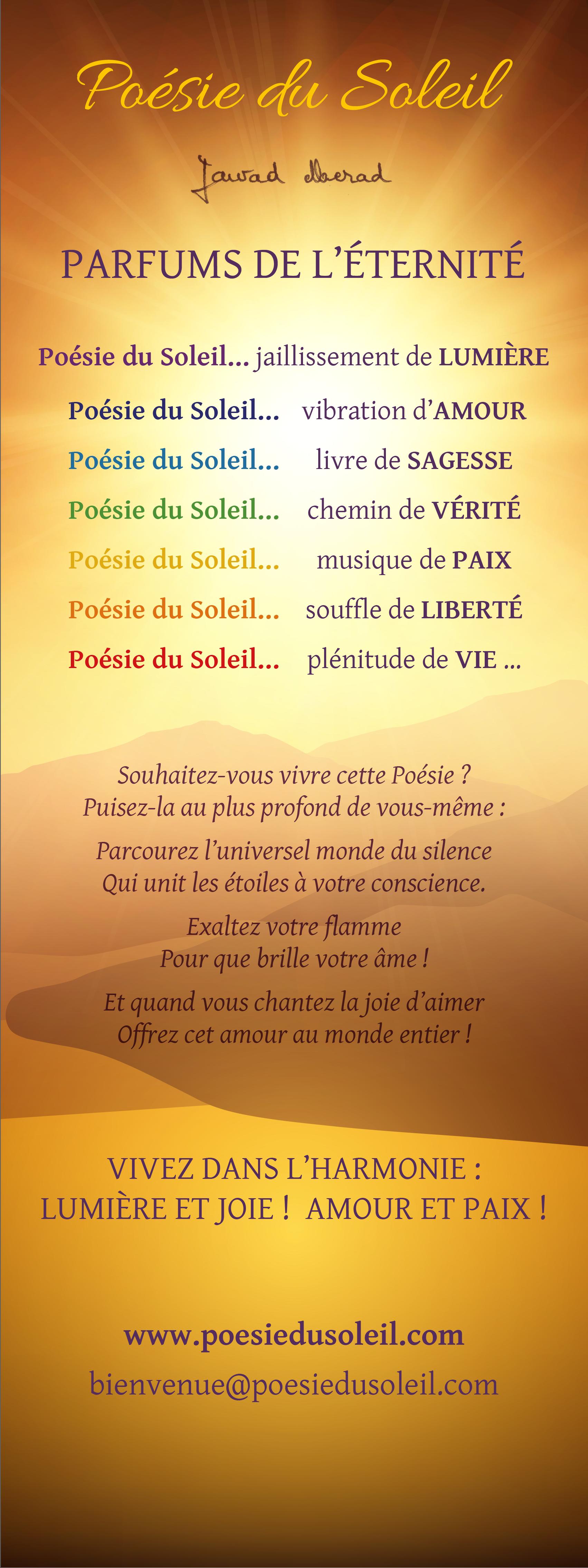 Poésie Du Soleil Les Poèmes De Jawad